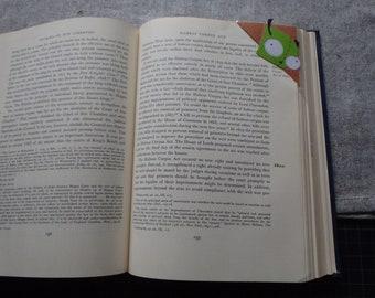 Laminated Invader Zim Gir Corner Bookmark