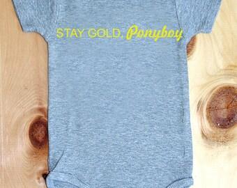Stay Gold, Ponyboy onesie