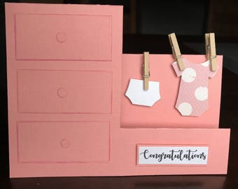Congratulations Drawers Easel Card