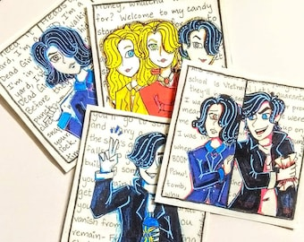 Heathers: The Musical Handmade Stickers
