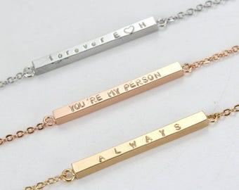 Always Bracelet - Harry Potter - Gold Plated - Rose/ Gold/ Silver Plated - Couples Bracelet - Personalized - Custom- Always