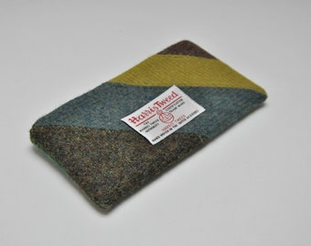 HARRIS TWEED fabric Phone Case/Pouch - Limited Edition One Off