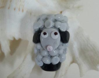 Handmade Focal Sheep Bead