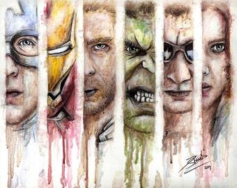 Avengers Artwork Print