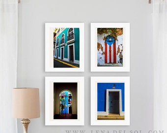 Puerto Rico photography, Caribbean, Doors of San Juan, Puerto Rico, Home decor, Travel, San Juan doors, housewarming, xmas gift, Gift idea