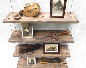rustic shelves, distressed shelf, barn wood shelves, reclaimed wood shelves, wall shelves
