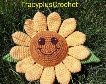 Sunflower. Sunflower toy. Crochet Sunflower toy. Sunflower stuffed toy. Handmade Sunflower. Sunflower. Crochet Sunflower.