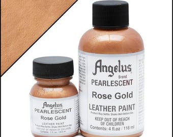 Angelus Pearlescent Paint Rose Gold