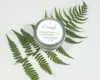 Soy Candle - essential oils - 125 mL