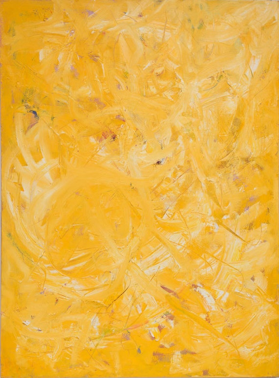 "Mellow Yellow 36"" x 48"" By Bruce Mishell"