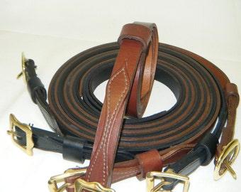 Handmade Brown or Black Sporran Strap