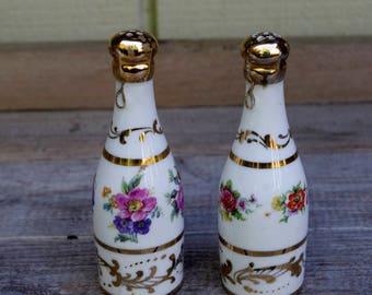 Porcelain Salt Pepper Shakers Sevres France