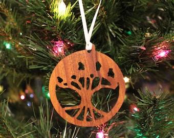 Ornament - Tree of Life - Mahogany