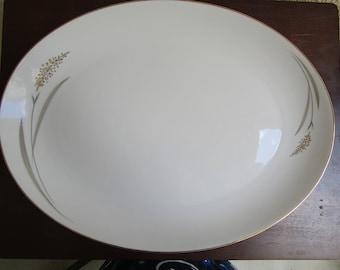 Rare vintage Jyoto Mikasa Golden Spray Platter