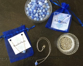 Carolina Blue Necklace