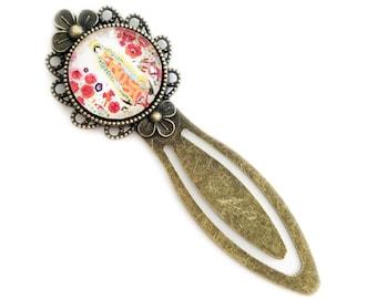 Virgin of Guadalupe Antique Brass Bookmark
