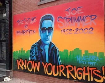 Joe Strummer/The Clash ~ Street Art Photography