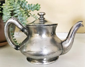 Antique Silver Plate Tea Pot from The Homestead Virginia Hot Springs