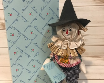 "12"" Madame Alexander 75th anniversary wizard of oz - Scarecrow"
