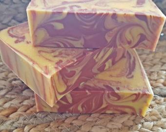 Almond & Apricot Soap | Handmade Soap | Goat's Milk Soap