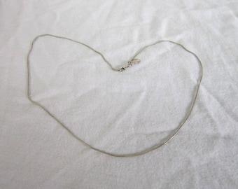 Vintage Designer Express Snake Chain Necklace