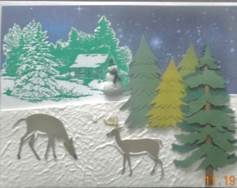 The Works Silent Night Card