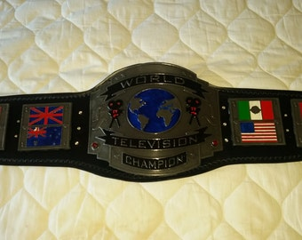 Television Championship Belt.  Plastic/resin. Adult size. Tribute.