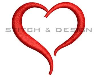 Love Heart Embroidery Download - Love Heart Pattern