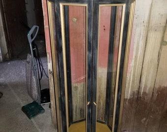 Vintage Lightup Curio Cabinet