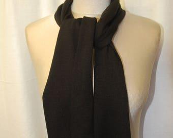 Black mesh scarf