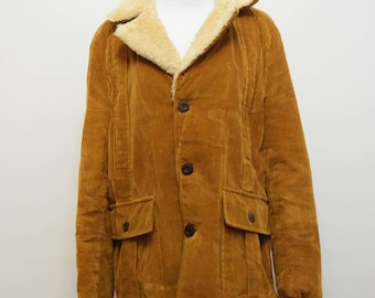 Tan Corduroy Jacket | Northland Men's Coat | Country Rustic | L/XL