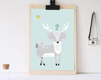 Enchanted Forest Nursery Print