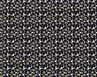 "1 yard OIL CLOTH, Marimekko Mini Unikko fabric, classic  36x56"", 92 cm x 140cm"