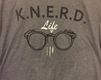 Traditional K.N.E.R.D. Life Black Ice T-Shirt