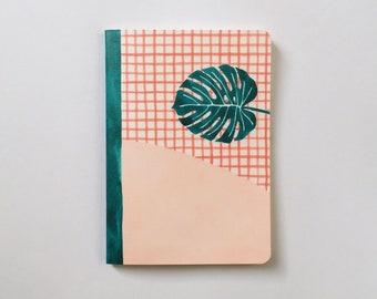 Pages de carnet Cuadrille - pages vierges: Journal - carnet de croquis - - doublé