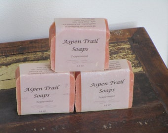 French Pink Clay Handmade Soap