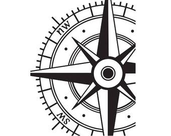 New Winter 2017 - Darice® Embossing Folder -Compass- 4.25 x 5.75, scrapbooking, card making, greeting cards, invitations and more