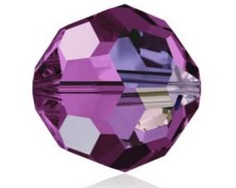 Sale% 144 pieces Swarovski Crystal 5000 Amethyst AB