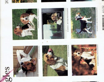 2000 dog calendar writing on each page but not on pictures