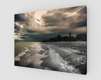 Haunted Shore Canvas Print