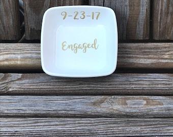 Engaged Ring Dish