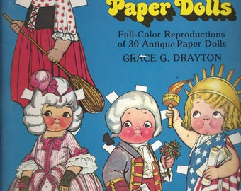 Vintage More Dolly Dingle Paper Doll Book by Grace G. Drayton, 1979
