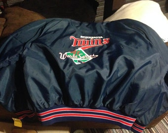 1987 Minnesota Twins World Series Championship Jacket by Holloway