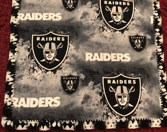 Raiders Fleece Crochet Blanket