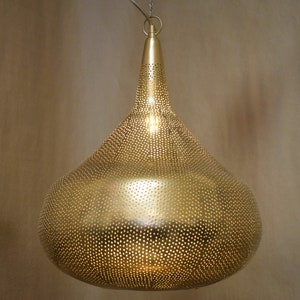 Moroccan lighting etsy yasmin pierced moroccan pendant silver brass or copper finish aloadofball Gallery