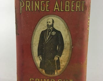 Vintage Prince Albert Pipe Tobacco Container