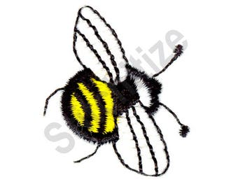 Bumble Bee - Machine Embroidery Design, Bee