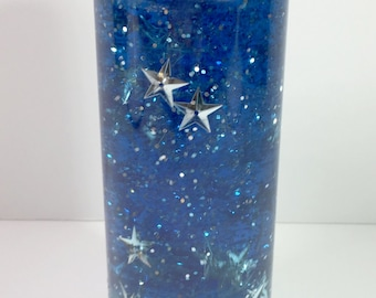 Sensory Bottle  / Calming Jar / Autism / ADHD / Sensory Processing Disorder / Stars & Moon / Soothing / Preschool / Toddler /Classroom Tool