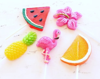 summer lollipops