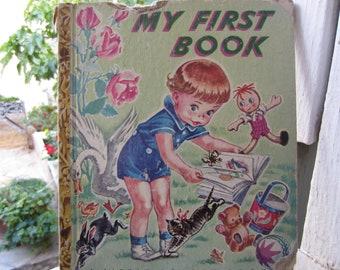 My First Book Little Golden Book 1940's